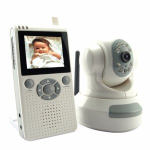 Wireless Baby Monitor with Night Vision (Video) New