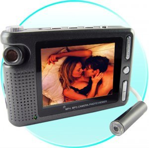 Wired Pinhole Videocamera with DVR - Mini Spy Extension Camera New