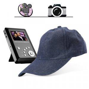 Spy Cap Hidden Recorder - Spy Kit with Camera + DVR + SD Card New