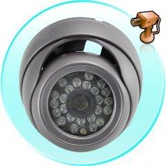 Security Camera Vandalproof Dome (CCD, 24 IR, Waterproof) New