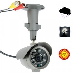 Waterproof CCTV Security Camera (SONY 1/3 Super HAD Color CCD) New