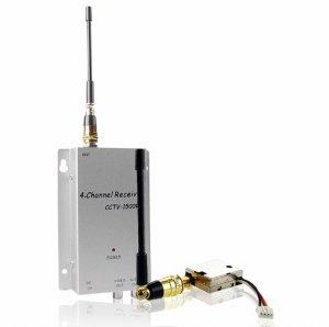 1.2GHz Wireless Transmitter + Receiver - 80M Range New
