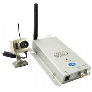 1/3 Inch Mini Wireless Camera with Receiver (PAL) New