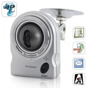 IP Security Camera (Angle Control + Motion Detection + Audio) New