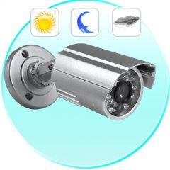 Mini Bullet Security Camera (CCD, Night Vision, Waterproof) New