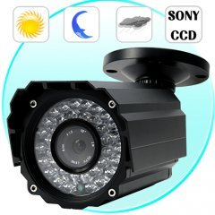 Mini Security Camera with SONY Interline CCD (CCTV, 36 IR) New