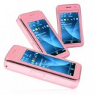 Elegance Dual SIM Quadband Cellphone w/3 Inch Touchscreen (Pink) New