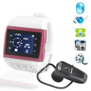Lady Jaguar - Quad Band Touchscreen Mobile PhonWatch + Keypad New