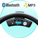 Car Steering Wheel Bluetooth Adapter + Wireless Earpiece New