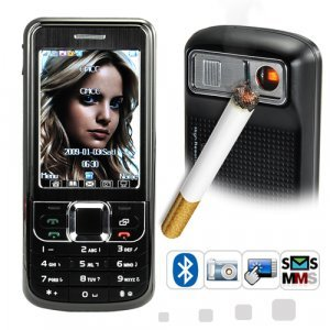 Machismo - Cigarette Lighter Cellphone (Touchscreen, Dual SIM) New