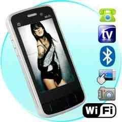Odyssey - WiFi Quadband Dual-SIM Touchscreen Cellphone (Silver) New