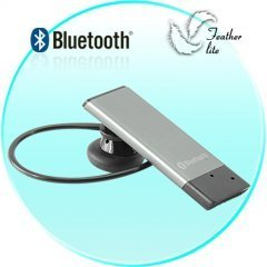 Bluetooth Wireless Headset - Worlds Lightest Bluetooth Earpiece New