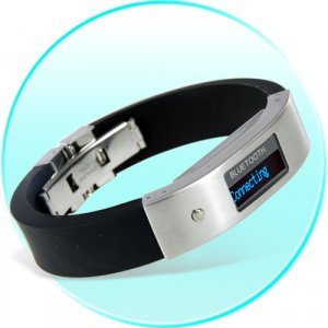Bluetooth Bracelet with Vibration and LCD Display New