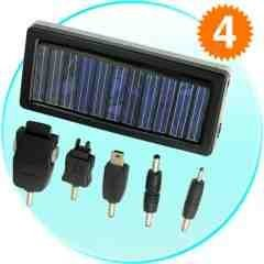 Mobile Phone Solar Charger - Portable Gren Power Supply New