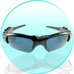 Bluetooth MP3 Player Sunglasses - 2GB Flash Memory New