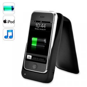 iPhone Battery Charger - Holder with Stereo Speakers New