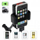 iPhone and iPod Car Charger and Holder + FM Transmitter New