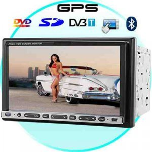 Road Warrior 7 Inch Touchscreen Car DVD Player with GPS + DVB-T New