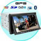 Dark Night 7 Inch Touch Screen Car Media System with GPS + DVB-T New