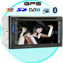 Street Ninja 6.2 Inch Car DVD Player System with DVB-T and GPS New