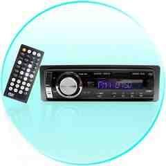 MP3 MP4 WMA 1-DIN Car DVD Player - SD Card Reader New