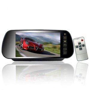 Touch Button Control 7 Inch Rearview Mirror Monitor New