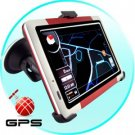 5 Inch Touch Screen GPS Navigator w/FM Transmitter (Sports Ed.) New