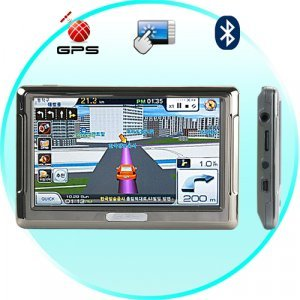Galileo 5 Inch Touch Screen Multimedia GPS Navigator w/Bluetooth New