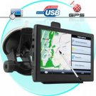 Diamond GPS Navigator with 5 Inch Touchscreen and FM Transmitter New