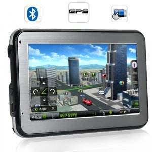 Land Cruiser - Luxury 4.3 Inch Touchscreen GPS Navigator New