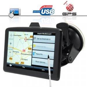 The Explorer 5 Inch Touchscreen GPS Navigator + MP3 MP4 Player New