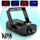 Laser Show Projector with Sound Activation (100mW Red/Purple) New