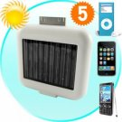 Solar Battery Charger for iPhones, iPods, and USB New