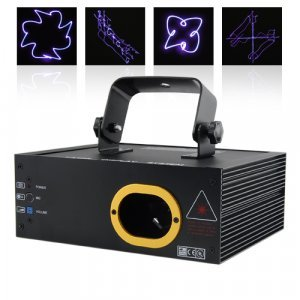 The Purple Haze - 100mW Music Lounge Projector New
