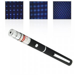 High Power 50mW Blue-Violet Multi-Pattern Laser Pen New