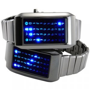 The Warp Core - Japanese Style Blue LED Watch New