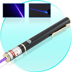 High Power 30mW Blue-Violet Laser Pointer Pen New