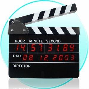 Directors Edition Digital Alarm Clock New