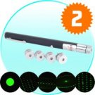 Multi-Pattern Green Laser Pointer Pen New