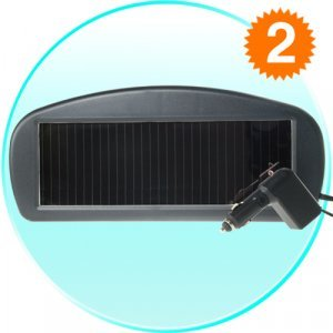 Solar Auto Battery Charger New