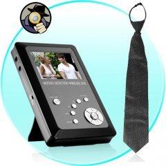 Wireless Spy Necktie Camera with Portable Recorder New