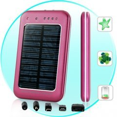 Solar Battery Charger Fors an Mobile Phoned Mini USB Devices New