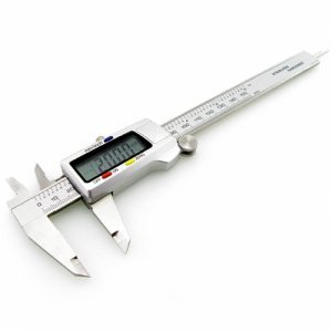 Electronic Digital Caliper - Stainless Steel Construction New