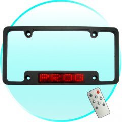 LED License Plate Holder - Personalize Your Ride  New