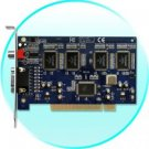 DVR Card - 8 Video and 4 Audio CH (Motion Detection, Alarm, TV)