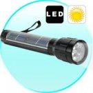 Solar Powered LED Flashlight (Mini) × 2