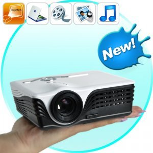 MediaMax - Multimedia Mini Projector (SD Card + USB)