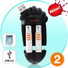 USB Battery Charger - Foot Shaped Tech Gadget