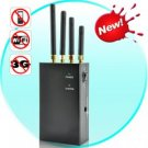 High Power Portable Signal Jammer for 3G and 2G Cell Phone, WiFi