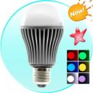 LED Color Changing Light Bulb with Remote (5W)